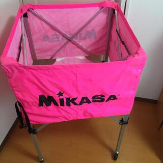 ミカサ(MIKASA)の中古 ミカサ Mikasa バレーボール 折り畳み式ボールカゴ キャリーケース(バレーボール)