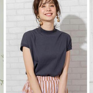 コーエン(coen)のUSAコットンハイネックTシャツ(Tシャツ(半袖/袖なし))