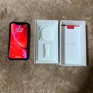 iPhone XR RED 64 GB SIMフリー au