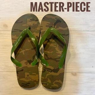 マスターピース(master-piece)の【新品】master-piece  カモフラージュ ビーチサンダル(ビーチサンダル)