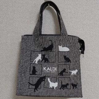 カルディ(KALDI)の*カルディ* ネコの日バッグ(バッグのみ)(トートバッグ)