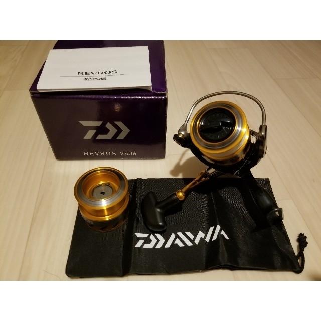 DAIWA(ダイワ)のダイワ 15レブロス 2506 スポーツ/アウトドアのフィッシング(リール)の商品写真