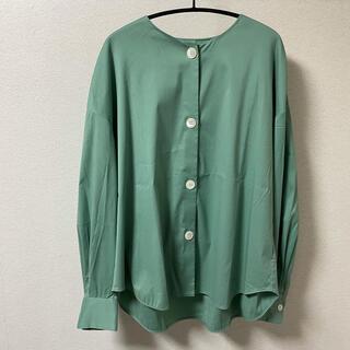 TOMORROWLAND - トゥモローランド コレクション シャツ 36 グリーン