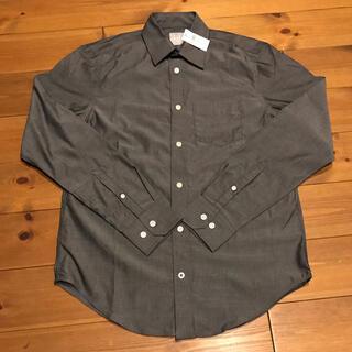 ギャップ(GAP)の【新品・未使用タグ付き】GAP 長袖シャツ チャコールグレー色 XSサイズ(シャツ)