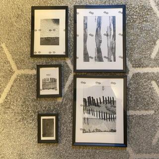 イケア(IKEA)のKNOPPANG IKEA フレーム インテリア アート(ポスターフレーム)