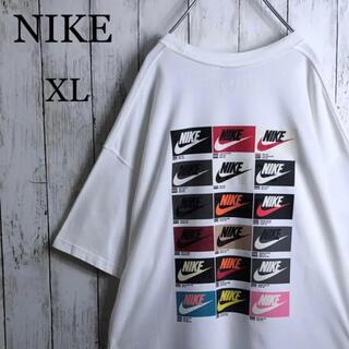 NIKE - 【美品】 ナイキ 両面プリント Tシャツ XL 白 ビッグシルエット