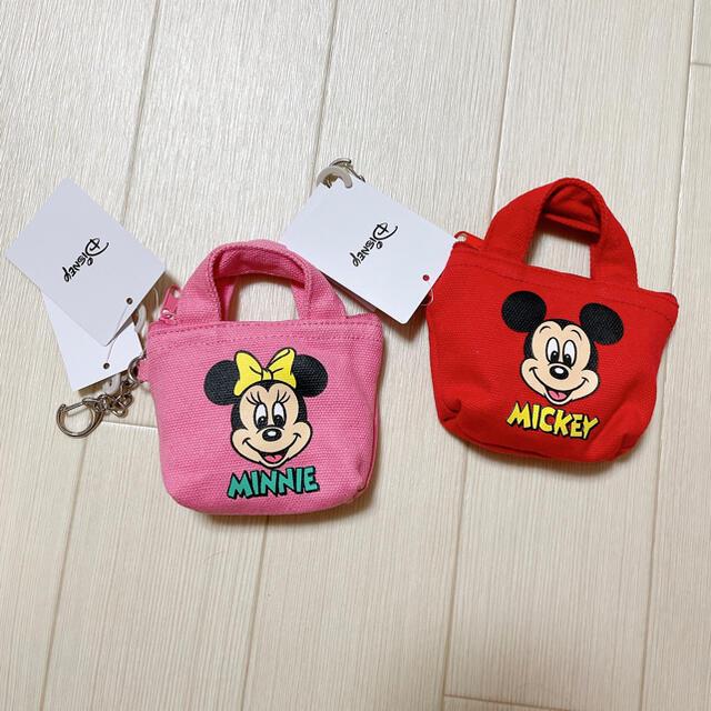 Disney(ディズニー)のしまむら ディズニー ポーチ ミニバッグ チャーム エンタメ/ホビーのおもちゃ/ぬいぐるみ(キャラクターグッズ)の商品写真