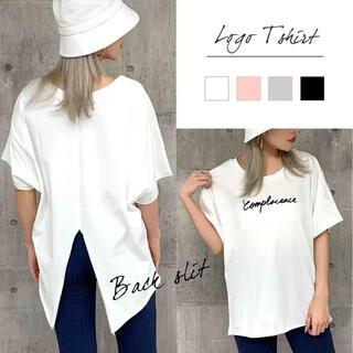 アナップ(ANAP)のANAP バックスリット tシャツ(Tシャツ(半袖/袖なし))