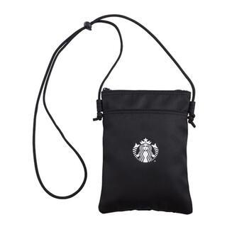 スターバックスコーヒー(Starbucks Coffee)の台湾 スターバックス サイレン ショルダー バッグ サコッシュ 黒(ショルダーバッグ)