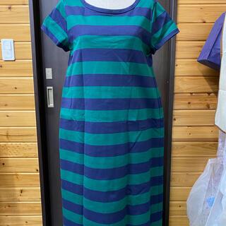 アトリエシックス(ATELIER SIX)のボーダーロングTシャツ(Tシャツ/カットソー(半袖/袖なし))