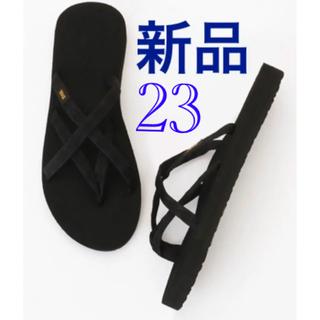 テバ(Teva)の新品送料込 Teva テバ OLOWAHU オロワフ 23cm ブラック(サンダル)