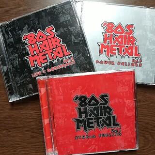 【'80S HAIR METAL】Vol.1, 2 & 3 (3セット) (ポップス/ロック(洋楽))