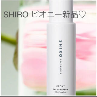 シロ(shiro)の新品未使用 SHIRO ピオニー オードパルファン(香水(女性用))