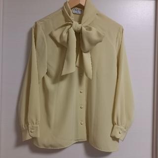 ロキエ(Lochie)のvintage renoma ribbon blouse(シャツ/ブラウス(長袖/七分))
