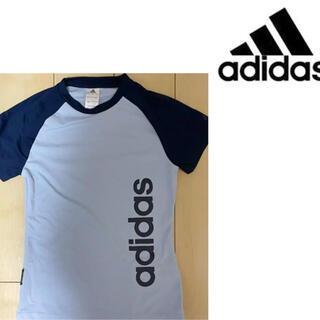 アディダス(adidas)の◆adidas◆未使用!アディダストレーニングウェアロゴTシャツ(ウェア)
