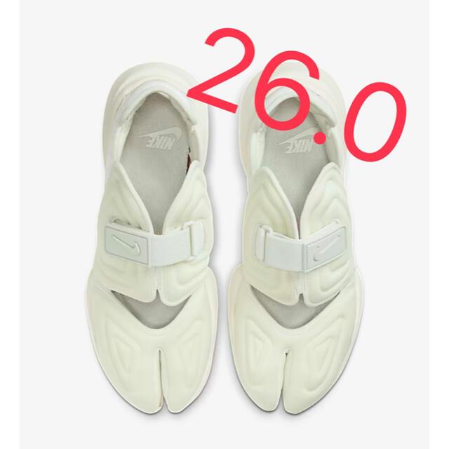 NIKE(ナイキ)のNIKE ナイキ AQUA RIFT アクアリフト 26 白 ホワイト 新品 レディースの靴/シューズ(スニーカー)の商品写真