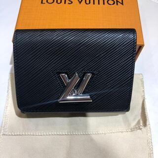 ルイヴィトン(LOUIS VUITTON)の新品同様 ルイヴィトン エピ ツイスト コンパクト 三つ折り財布 M64414(財布)