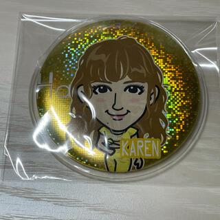 イーガールズ(E-girls)の藤井夏恋 カレンダー Happiness  75mm缶バッジ(ミュージシャン)