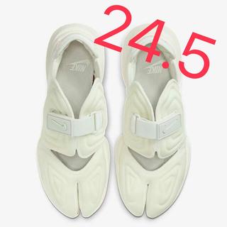 NIKE ナイキ AQUA RIFT アクアリフト 24.5 白 ホワイト 新品
