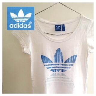 アディダス(adidas)のアディダス tシャツ レディース adidas トレフォイル ロゴ USED(Tシャツ(半袖/袖なし))