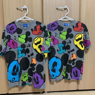 ディズニー(Disney)のディズニーTシャツ ペア S LL(Tシャツ(半袖/袖なし))