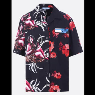 プラダ(PRADA)のPRADA 18AW アロハシャツ 開襟シャツ 再構築(シャツ)