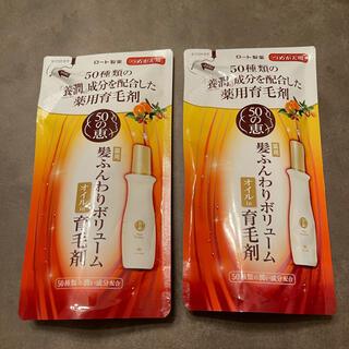 ロートセイヤク(ロート製薬)の🛒505恵 髪ふんわりボリューム 育毛剤 つめかえ用×2(ヘアケア)