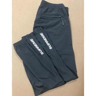 Supreme - supreme warm up pant black small