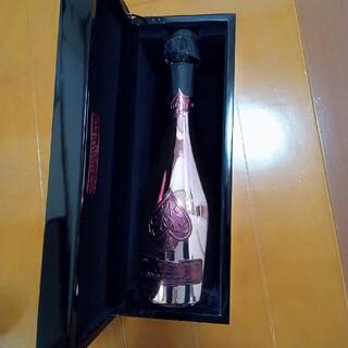 アルマンドバジ(Armand Basi)の【正規品】アルマンドブリニャック ロゼ 空瓶 BOX付 750ml(シャンパン/スパークリングワイン)
