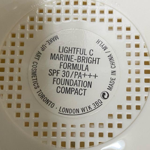MAC(マック)のmac ライトフルCコンパクト コスメ/美容のベースメイク/化粧品(ファンデーション)の商品写真