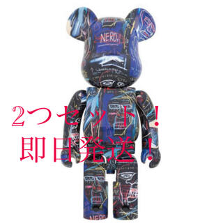 メディコムトイ(MEDICOM TOY)のBE@RBRICK JEAN-MICHEL BASQUIAT #7 1000%(その他)