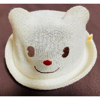 ミキハウス(mikihouse)のMIKIHOUSE ミキハウス くまさん帽子(帽子)