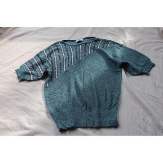 デプト(DEPT)のs3 vintage ヨーロッパ古着 サマーニット Mくらい(カットソー(半袖/袖なし))