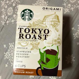 スターバックスコーヒー(Starbucks Coffee)のスターバックス オリガミ パーソナルドリップコーヒー TOKYOロースト(コーヒー)