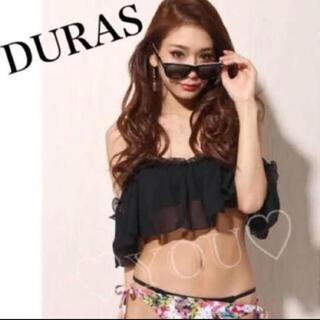 DURAS - 再入荷 特別約1万円値引☆ 新品 デュラス オフショル ビキニ  ブラック