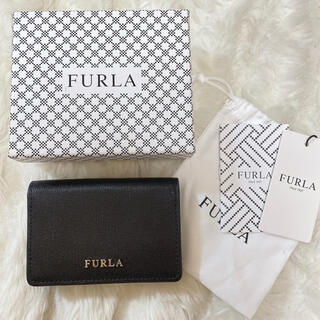 Furla - FURLA フルラ 名刺入れ カードケース ブラック 黒