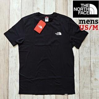 THE NORTH FACE - TNF メンズ シンプル ブラック  Mサイズ