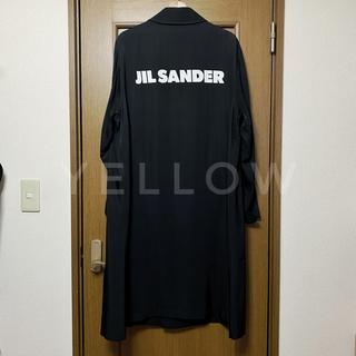 Jil Sander - JIL SANDER ロゴプリント スタッフコート