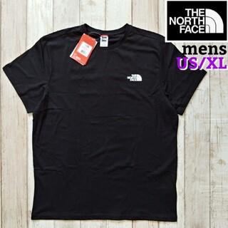 THE NORTH FACE - TNF メンズ シンプル ブラック  XLサイズ