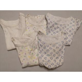 コンビミニ(Combi mini)のコンビミニ 半袖肌着5枚セット 90(下着)
