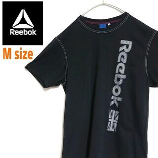 リーボック(Reebok)のReebok リーボック ビッグロゴ 薄黒色  Tシャツ  ワンポイントロゴ(Tシャツ/カットソー(半袖/袖なし))