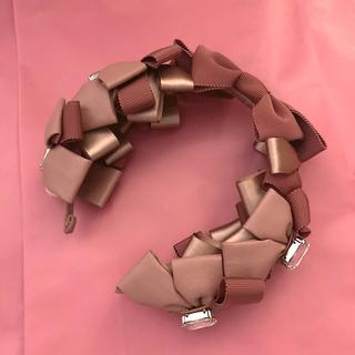 Angelic Pretty - prima ribbon カチューシャ 限定 ピンク