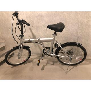 ロードバイク 20インチ 折りたたみ自転車 変速ギア(自転車本体)
