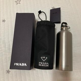 プラダ(PRADA)の【新品未使用】プラダ 水筒+RE-NYLONポーチ(タンブラー)