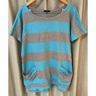 ギャップ(GAP)のGAP ボーダートップス レディース(Tシャツ(半袖/袖なし))