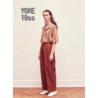 SUNSEA - YOKE ワイドパンツ パンツ スラックス ヨーク stein シュタイン