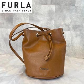 Furla - 【FURLA】フルラ ステイシー EVE ブラウン レザー ミニショルダーバッグ