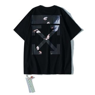 OFF-WHITE - 21SS 人気商品OFF-WHITE Tシャツ 男女兼用 S23