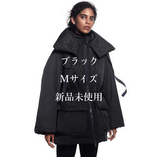 ユニクロ(UNIQLO)の【即完売】 M ブラック ハイブリッドダウンショートコート +J.(ダウンコート)