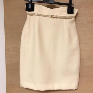 Apuweiser-riche - (超美品!)Apuweiser-riche  ベルト付きスカート